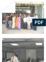 Execution Workshop Gsk Colombo - Chandramowly
