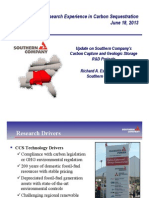 Update on Southern Company's CCS R&D Projects