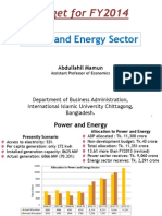 Power and Energy Sector of Bangladesh- Abdullahil Mamun, DBA, IIUC