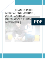 Ch-11 , On Bio-mechanics in Bio-medical Engineering