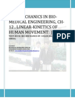 Ch-12 , On Bio-mechanics in Bio-medical Engineering