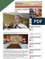 20-06-2013 Foros contribuyen a integrar un gobierno ciudadano