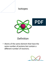 Isotopes ppt