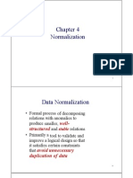 Normalization  In Database  Course