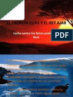 EL PROFETA ELÍAS Y EL REY AJAB