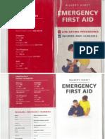 Reader Digest-Emergency First Aid