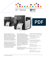 Zebra ZT200 Series Printer Datasheet