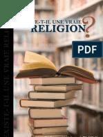 EXISTE-T-IL UNE VRAIE RELIGION ?
