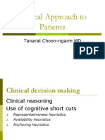 Clinical Approach to Patients