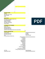 PMP Eligibility Applicattion