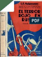 S P MELGOUNOV - El Terror Rojo en Rusia Tomo 3