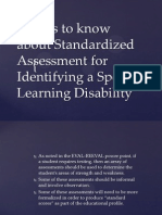 The Basics of Standardized Assessment for Diagnosis