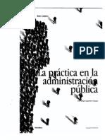 La práctica en la Administración Pública