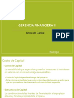 Costo de Capital Expo