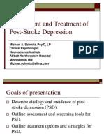 Post Stroke Depression