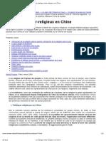 Le Dialogue Inter-religieux en Chine