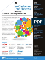 Voice of the Customer Strategies for Success - How to listen to the same customer on multiple channels