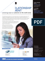 MOBILE RELATIONSHIP MANAGEMENT - Delivering value to customers on the small screen