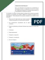 Influencia de La Tectonica de Placas en La Formacion de Yacimientos Mineros
