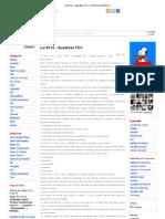 Lei 8112 - Questões FCC _ STATUS JURÍDICO