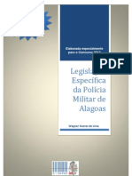 Apostila_legislacao_especifica Legislacao Pertinente Ao Policial Militar de Alagoas