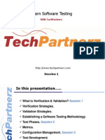 Learn Software Testing with TechPartnerz 1.ppt