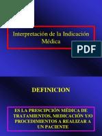 Clase Medicacion Administrativos