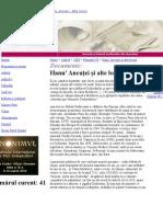 Romania Literara Despre Sadoveanu