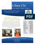 PBX - Newsletter 2013