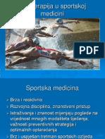 Fiziotetapija u Sportskoj Medicini