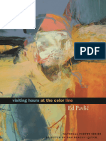 Visiting Hours at the Color Line | Poems by Ed Pavlić