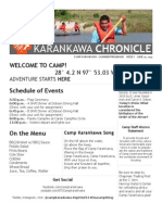 Camp Karankawa - Newsletter - Week 1