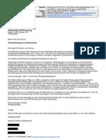 Anfrage vom 2. Mai 2013 Berliner Wassertisch nach dem Informationsfreiheitsgesetz IFG