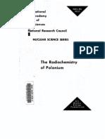 The Radiochemistry of Polonium
