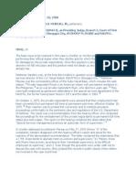 B3 Doctrine of State Immunity Cases