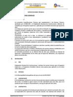 Especificaciones Tecnicas (Reparado)