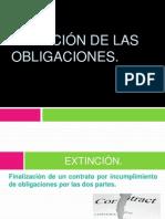 EXTINCIÓN DE LAS OBLIGACIONES (1)