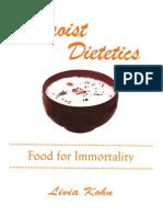 Daoist Dietetics