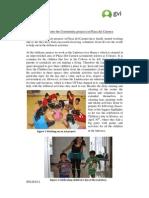 GVI Playa Del Carmen Monthly Achievement Report April 2013