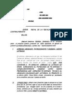 ACEPTA DESIGNACI+ôN D E CURADOR.JUAN B. RAM+ìREZ  PE+æA.