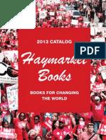 Haymarket Books 2013 Catalog