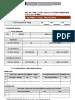 Formato Tercer Informe Tecnico Pedagogico
