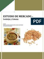 Estudio de Mercado - Lenteja y Linaza (Fi