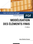Modelisation Par Elements Finis - 3eme Edition