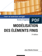 Modelisation Par Elements Finis - 3eme Edition
