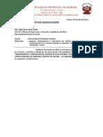 Evaluacion Costo-presupuesto Agua Potable Mantaro