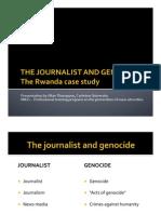 MIGS - Journalists and Genocide - Rwanda Case Study - Prof. Allan Thompson