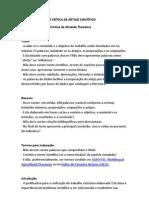 Modelo de Analise Critica de Artigo Cientifico