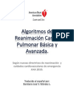 Algoritmos RCP AHA 2010