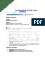 EJEMPLO PLANEACIÓN DE CLASE DE MATEMÁTICAS